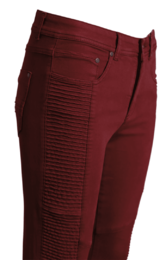 Jensen Holly jeans dark red